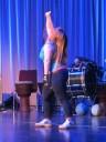 mit ihrer Tanzperformance