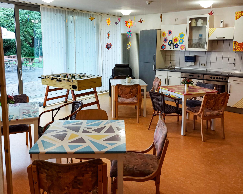 1. Juli 2021: Café Zeitlos in der Wohnstätte Weilerbach