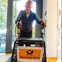 8. Oktober 2021: Der Postbote in Weilerbach