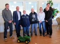 Lebenshilfe Westpfalz und Unternehmen John Deere, Kaiserslautern