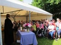 25. Mai 2014: Gottesdienst in der Wohnstätte der Lebenshilfe in Kirchheimbolanden