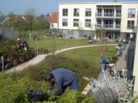 3. Mai 2014: Gartenaktion bei der Lebenshilfe in Zweibrücken