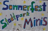 5. Juli 2014: Sommerfest in der Kindertagesstätte Stadtparkminis