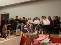 """30. November 2014: """"Farbtöne"""" spielten auf dem Weihnachtsmarkt im Edith-Stein-Haus"""