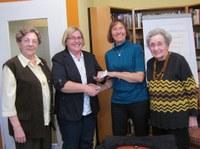 5. Februar 2014: Kreativkreis des Wohnstifts Trippstadt spendet 300 Euro