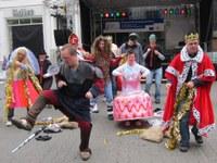 10. Mai 2014: Theater-Gruppe Labadu der Lebenshilfe Westpfalz e.V. beim Europa-Aktionstag in Kaiserslautern