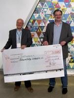 31. Januar 2014: Wipotec GmbH spendet 3000 Euro