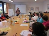 13. Juli 2015: Kaiserslautern inKLusiv - Arbeitsgruppe 'Freizeit' trifft sich