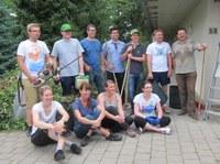 15. Juli 2015: Gartenaktion in Kirchheimbolanden