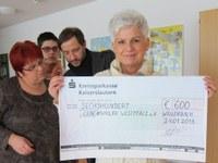 24. Januar 2015: Spende für die Wohnstätte Weilerbach