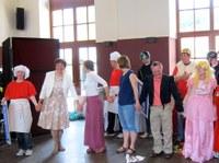 27. Juni 2015: Labadu-Theater tritt beim Geburtstagsfest auf