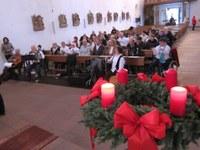10. Dezember 2016: Farbtöne spielen in der Martinskirche