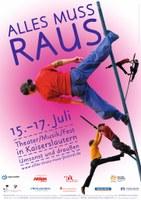 15. bis 17. Juli 2016: ALLES MUSS RAUS! 2016 - Vorschau