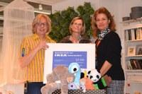01. Februar 2016: IKEA unterstützt erneut die Lebenshilfe Westpfalz