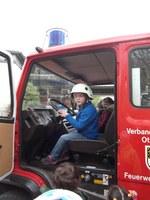 16. April 2016: Feuerwehr zu Besuch Am Nußbäumchen