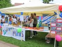 21. Mai 2016: Stadtpark-Minis beim Stadtteilfest