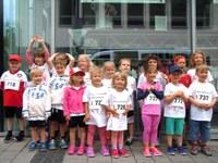 3. Juli 2016: Kindertagesstätten nehmen am City-Lauf teil