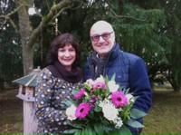 Pia Borchert und Walfried Weber