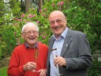 10. Mai 2016: Helmut Spanier feierte 90. Geburtstag