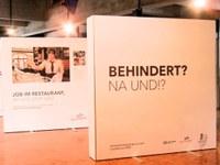 """11. Januar 2017: Ausstellungseröffnung """"BEHINDERT? NA UND!?"""""""