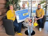 13. März 2017: Spende von IKEA