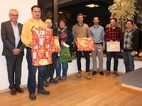 18. Dezember 2017: Weihnachtsaktion 2017 - Unternehmen John Deere Kaiserslautern