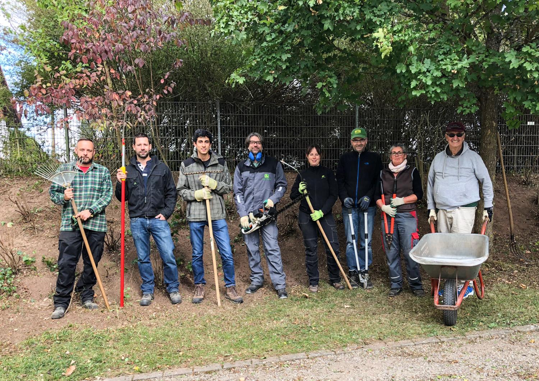 1. Oktober 2018: Lebenshilfe Westpfalz e.V. - Herbstaktion von John Deere