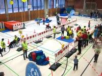"""12. März 2018: Lebenshilfe Westpfalz e.V. beim Familienspielefest """"Abenteuerland - auf der Baustelle"""""""