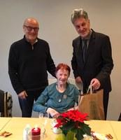 21. Dezember 2018: Besuch in der Wohnstätte Otterbach