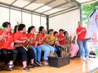 23. Juni 2018: Lebenshilfe Westpfalz - FARBTÖNE spielen beim Mieterfest der BauAG