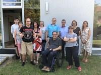 24. Juli 2018: Lebenshilfe Westpfalz e.V. - Matthias Rösch besucht inklusives Wohnprojekt
