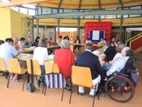 5. Mai 2018: Lebenshilfe Westpfalz e.V. - Gemeinsame Sitzung der Bewohnervertretungen