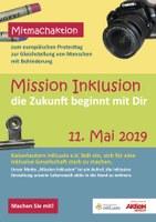 11. Mai 2019: Aktionstag zur Gleichstellung von Menschen mit Behinderungen - Vorschau