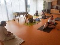 12. August 2019: Yoga in der Wohnstätte Weilerbach