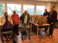 13. Dezember 2019: Alt-Arm-Allein beschert Wohnstätte Otterbach