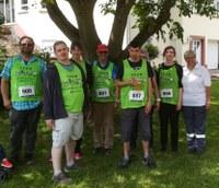 16. Juni 2019: Inklusionslauf mit Bewohnern der Wohnstätte Weilerbach