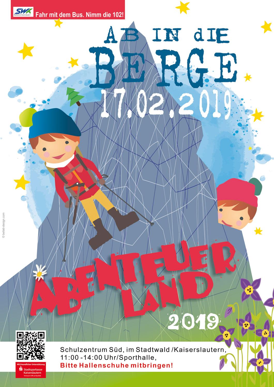 17. Februar 2019: Abenteuerland 2019 - Vorschau