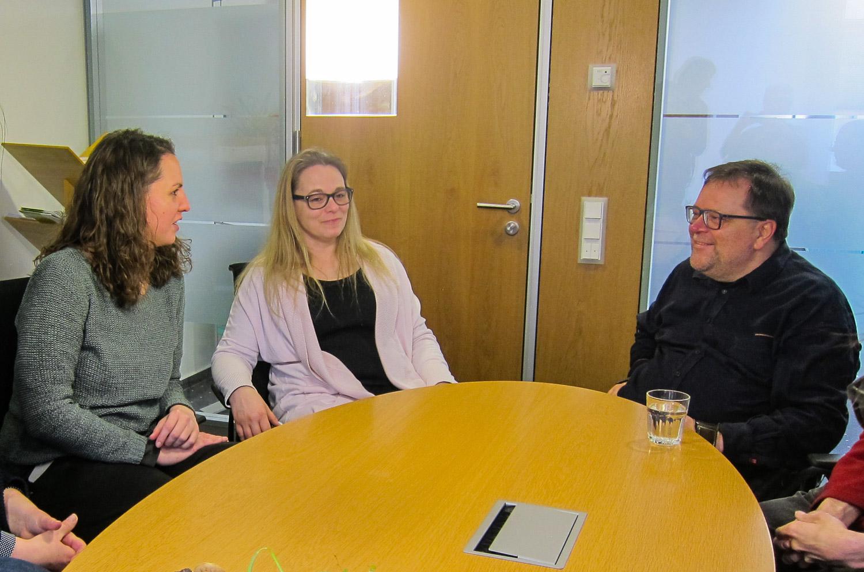 4. Februar 2019: Landesbehindertenbeauftragter Matthias Rösch besucht EUTB