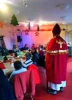 """6. Dezember 2019: Der Nikolaus in der Wohnstätte """"Haus Birke"""" in Zweibrücken"""