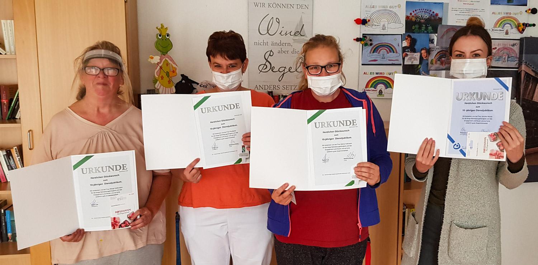1. Oktober 2020: Dienstjubiläum in Weilerbach