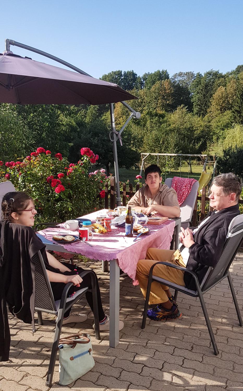 21. September 2020: Frühstück auf dem Bauernhof