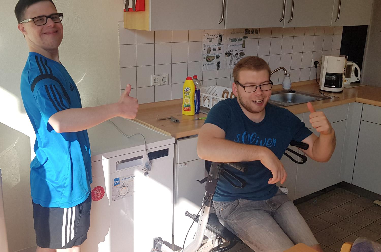 23. Juni 2020: Wohnstätte Weilerbach - Trainingswohnung