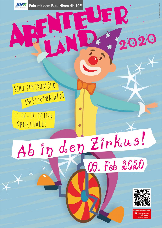 9. Februar 2020: ABENTEUERLAND 2020 - Ab in den Zirkus! - Vorschau
