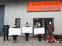 11. Februar 2021: Spende für Kita Regenbogen in Rockenhausen