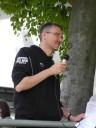 Turnierleiter Christian Schröder
