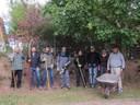 Das fröhliche Gärtner-Team