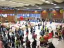 Viel Betrieb in Halle 1