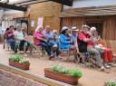 Publikum in der Blumenhalle