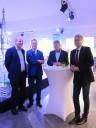 David Lyle, Markus Vollmer, Richard Mastenbroek, Dr. Klaus Weichel (v.l.)