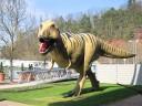 T-Rex erwartungsvoll